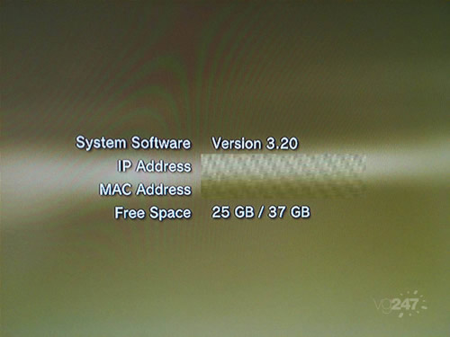 PS3 Firmware 3.20