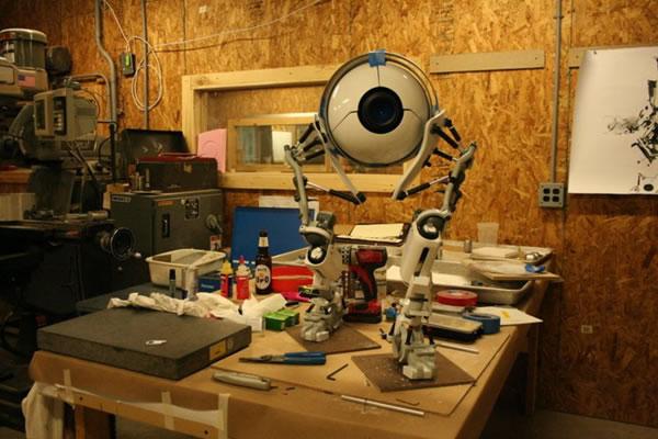 Как сделать портал роботов