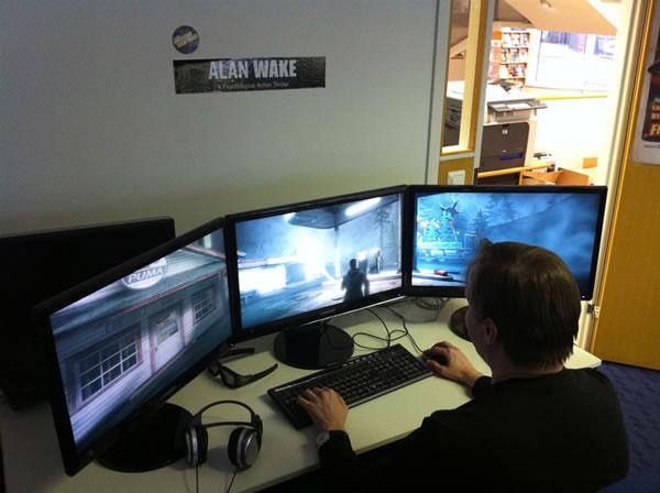 Remedyがpc版「alan Wake」のマルチモニターと3d立体視サポートを予告、アメージングなイメージを公開