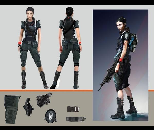 Day 1 Studiosが開発を進めていたコナミ「サイレントスコープ」新作のアートワークが発掘 « doope! 国内外のゲーム情報サイト