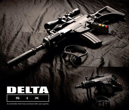 「Delta Six Gaming Controller」