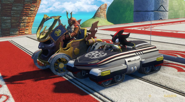 「Sonic All-Stars Racing Transformed」