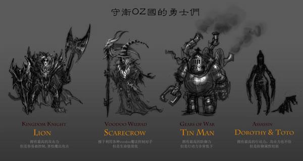 オズ+スチームパンク+ゾンビ=楽しい!Spicy Horseが新作「OZombie」のFacebookページをオープン