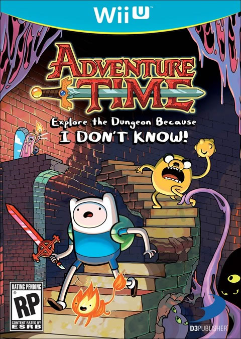 「Adventure Time: Explore the Dungeon Because I Don't Know!」