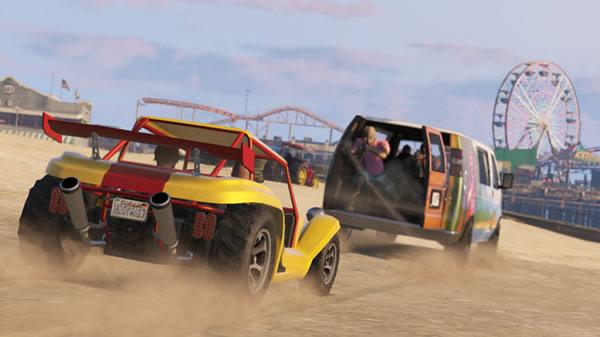 50万GTAドルの配布スケジュールや新コンテンツ実装に関する「Grand Theft Auto Online」のアップデート情報が公開