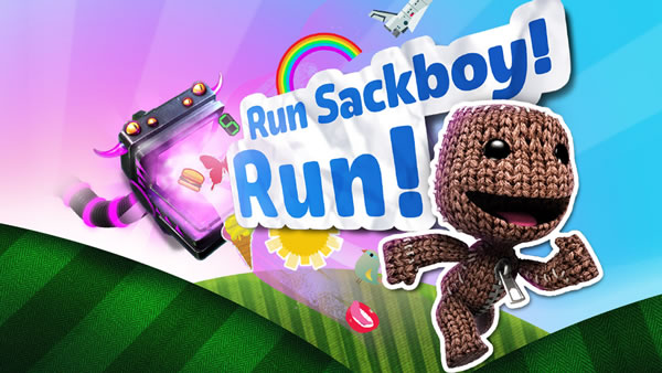 「Run SackBoy! Run!」