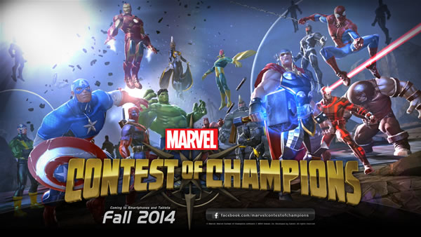 「Marvel Contest of Champions」