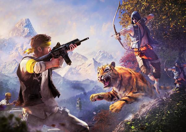 「Far Cry 4」のマルチプレイヤーモードを紹介するプレビュー映像が公開、予約特典に関する情報も