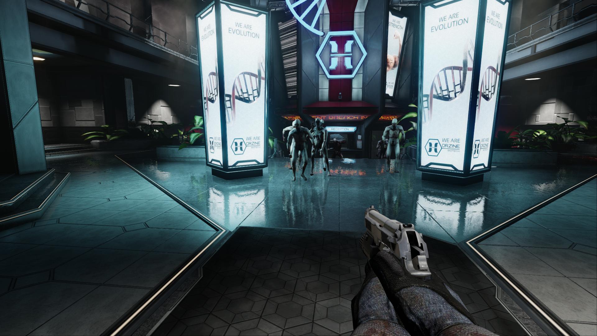 Zed用のスクリーンスペースsssやフォトリアルな反射など、pc版「killing Floor 2」のnvidia