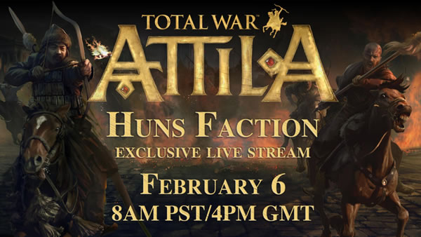 「Total War: Atilla」