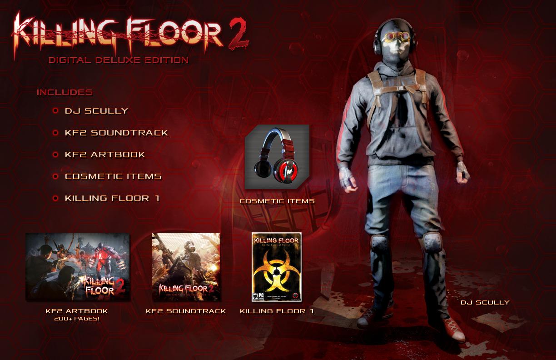 「killing Floor 2」の最小 推奨動作要件がアナウンス、多数の特典を同梱するdigital Deluxe