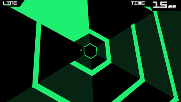 「Super Hexagon」