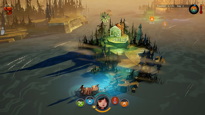 「The Flame in the Flood 」