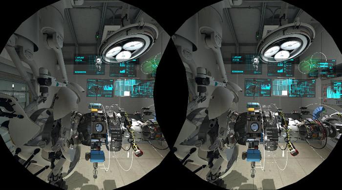 「HTC Vive」「Portal」