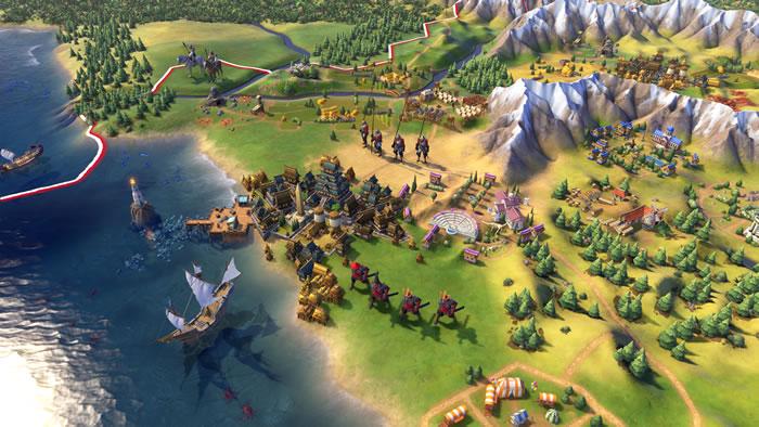 「Sid Meier's Civilization VI」「シドマイヤーズ シヴィライゼーション VI」