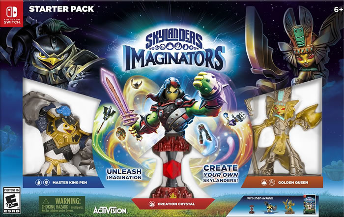 「 Skylanders Imaginators」
