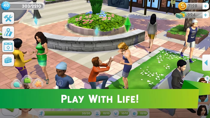 「The Sims Mobile」