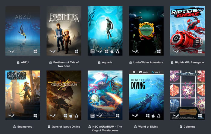 「Humble Oceans Day Bundle」