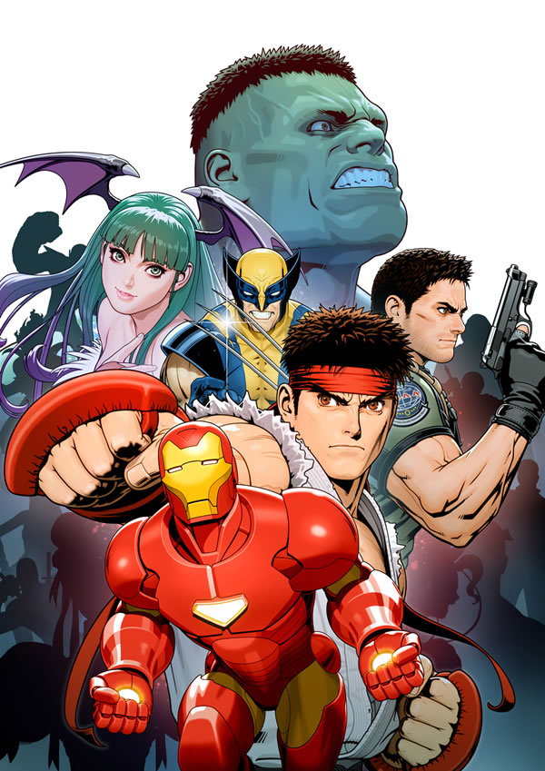 「Marvel Vs Capcom 3: Fate of Two Worlds」 マーヴル カプコン
