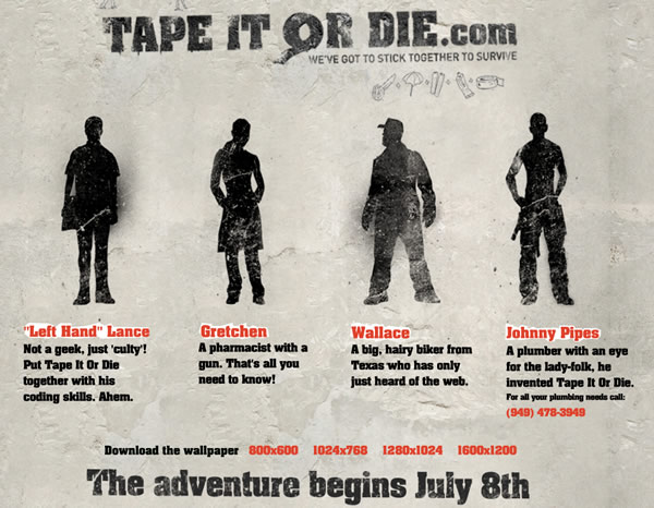 「TAPE IT OR DIE」