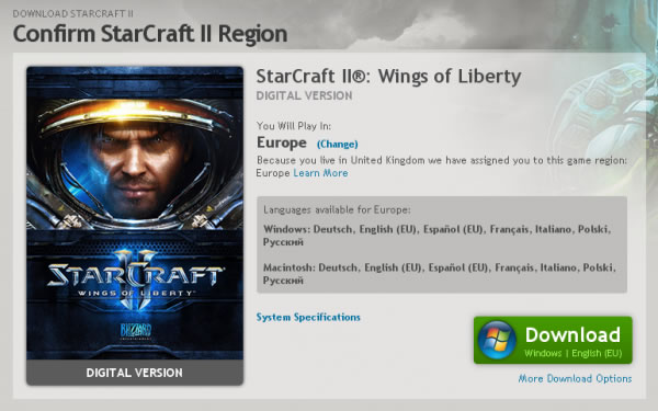 「StarCraft II: Wings of Liberty」 「StarCraft II」 スタークラフト II