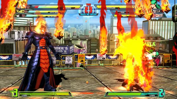 「Marvel vs. Capcom 3」「Marvel Vs Capcom 3: Fate of Two Worlds」 マーブル カプコン