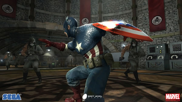 「Captain America: Super Soldier」 キャプテンアメリカ