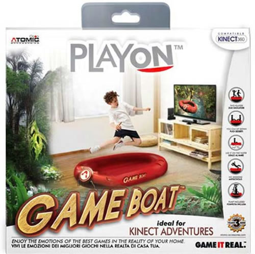 「Game Boat」 Kinect