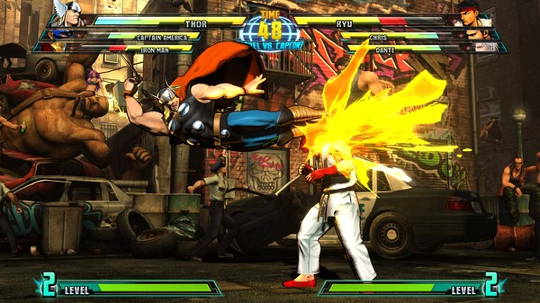 「Marvel vs. Capcom 3」