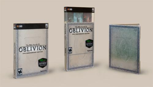the elder scrolls iv oblivion の5周年記念エディションが6月リリース