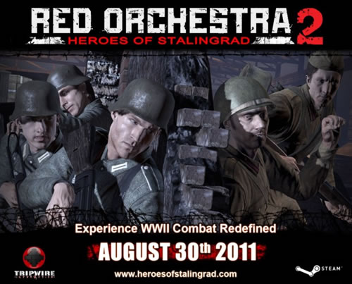 「Red Orchestra 2: Heroes of Stalingrad」