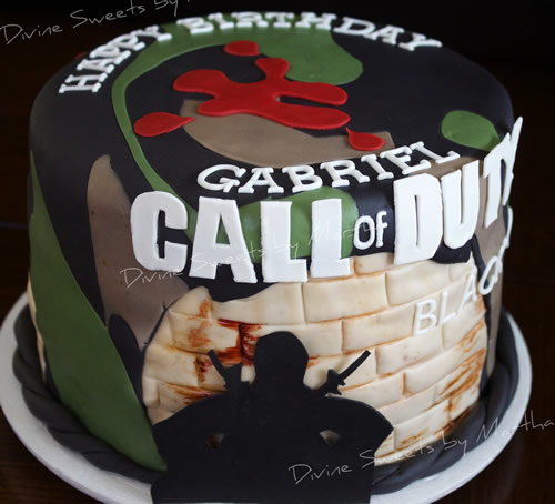 「Call of Duty: Black Ops」 ケーキ