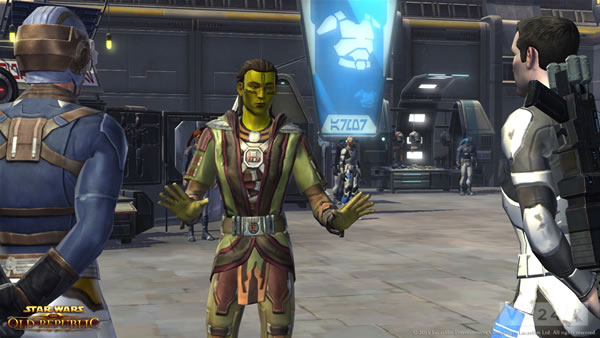 「Star Wars: The Old Republic」