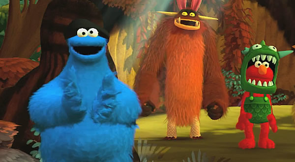 「Sesame Street: Once Upon a Monster」