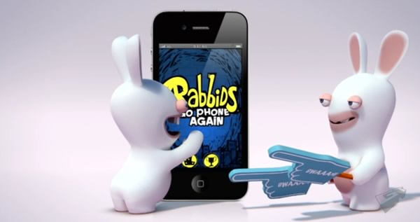 「Rabbids Go Phone Again」