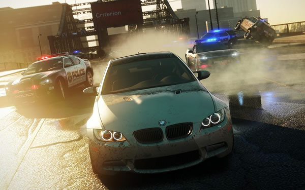 「Need for Speed Most Wanted」
