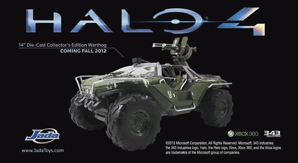 jada toysがダイキャスト製 halo 4 版 ワートホグ レプリカのギミック