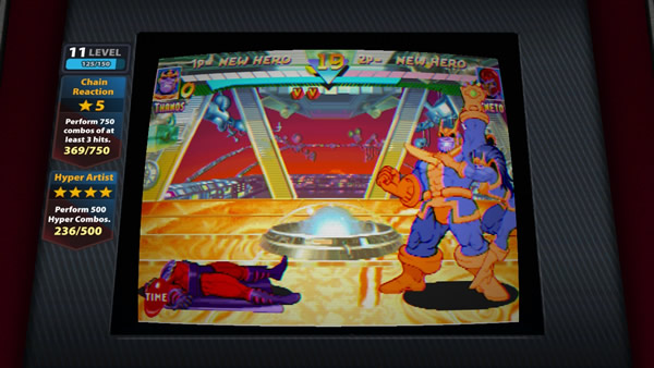 「Marvel vs Capcom: Origins」