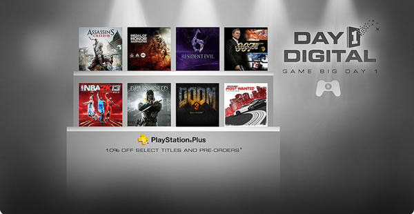 「PSN Day 1 Digital」