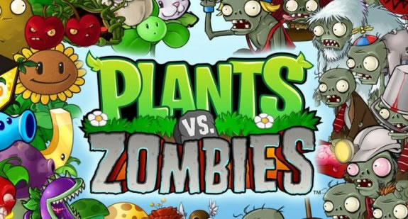 「Plants vs Zombies」