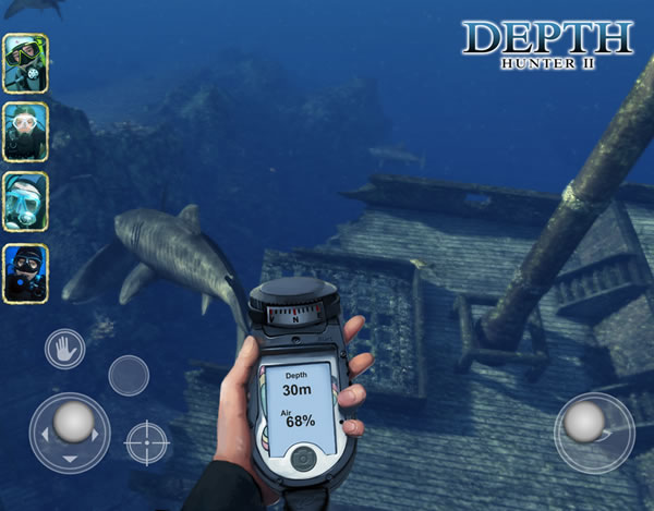 「Depth Hunter 2」