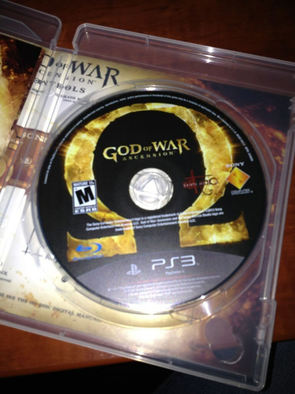 「God of War: Ascension」