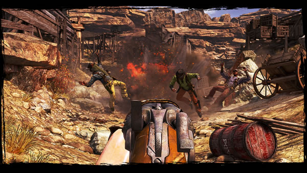 「Call of Juarez Gunslinger」