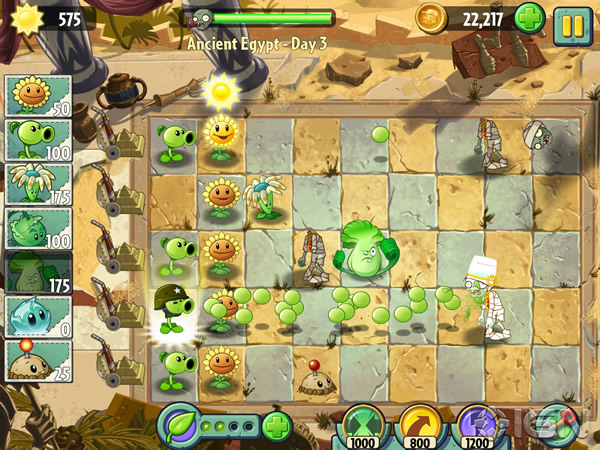 「Plants vs. Zombies 2: It's About Time」