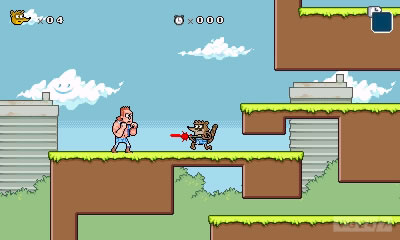 「Regular Show: Mordecai and Rigby In 8-Bit Land」