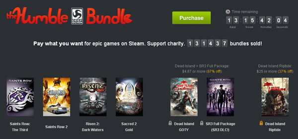 「Humble Deep Silver Bundle」