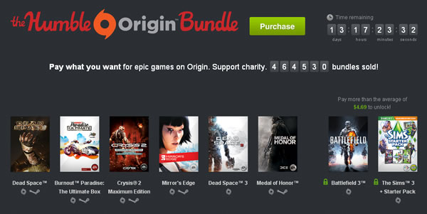 「Humble Origin Bundle」