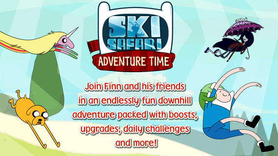 「Ski Safari Adventure Time」
