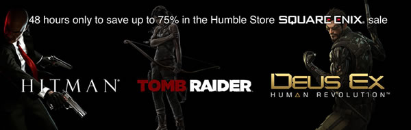 「Humble Store Square Enix sale」