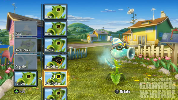 「Plants vs. Zombies: Garden Warfare」